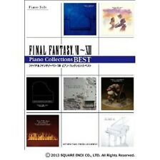 Final Fantasy VII - VIII Piano Solo Collections Best sheet music book