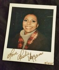 Leslie Uggams Kizzy Reynolds Roots Deadpool Actress Autographed signed Polaroid