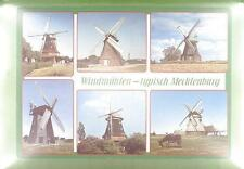 CPA Germany Mecklenburg Windmühle Windmill Moulin a Vent Molin Wiatrak w32