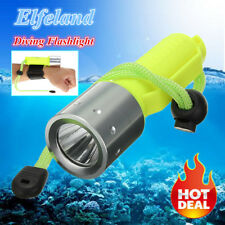 6000LM T6 LED Scuba Diving Flashlight Torch Underwater 50M Waterproof Lamp ❤