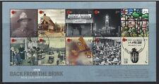 """NEW ZEALAND 2018 WWI """"BACK FROM THE BRINK"""" MINIATURE SHEET FINE USED"""