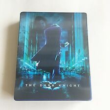 Batman The Dark Knight Trilogy Blu-ray Jumbo Steelbook [Import] W/Lenticular NEW