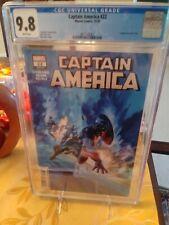 Captain America #22 Alex Ross Cover Professionally Graded CGC 9.8 BEAUTY!