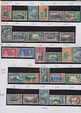 XC16554 Ceylon 1935 -1949 landscapes nice lot of good stamps used