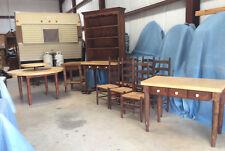 Vintage Dining Room Set ;10 pc, c1940 &1980; turned legs, sturdy, Mahogany Stain