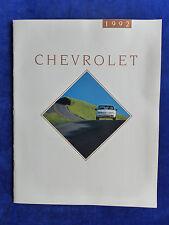 Chevrolet USA 1992 - Cavalier Beretta Camaro  - US-Prospekt Brochure 08.1991