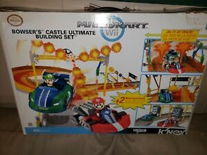 2011 Knex Mario Kart Bowsers Castle Ultimate Building Set With Box
