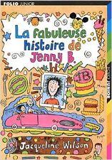Jacqueline Wilson - La Fabuleuse histoire de Jenny B. - 2004 - poche