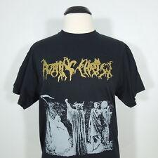 - ROTTING CHRIST Passage To Arcturo - Gold Logo - T-Shirt Black Men's sz M (NEW)