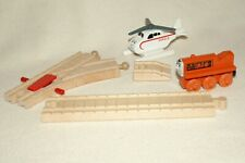 Thomas Tank Engine- Terrance Engine & Harold Copter + 3 Pc. Track Pack- Used/Vg