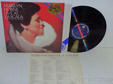 MARILYN HORNE Live at La Scala MARTIN KATZ Piano LP CBS M 37819 (1983) NM