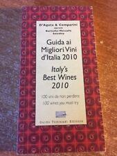 Guida ai migiori Vini d'Italia 2010 D'Agata & Comparini 100 vini