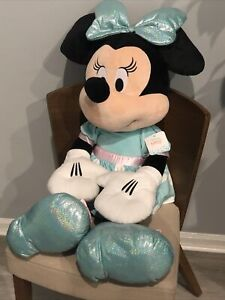 Disney Minnie Mouse Floppy 36 Inch Tall Stuffed Animal New With Tags