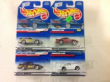 Hot Wheels 2 Porsche 911 GT3P & two 930's! FREE shipping!