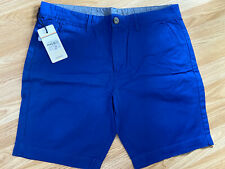 SoulCal&Co New Mens Blue Large Chino Shorts RRP £22.99