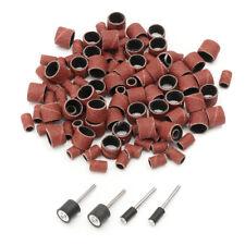 For Polishing Dremel Set Mandrels Drum Rotary Bands 4 Sanding 100pcs Kit Tool