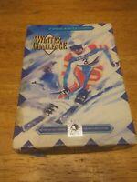 Winter Challenge (Sega Genesis, 1992) with box