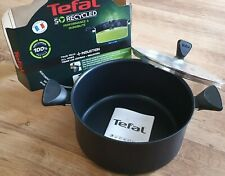 FRANCE Tefal So Recycled Non-stick 24cm slow cook Pot + lid all hobs +Induction