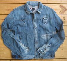 Mens Diesel J A A Denim Jeans Jacket Size XXL