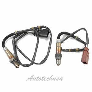 For 98-06  VW Beetle Golf Jetta Audi TT Pair Front & Rear Oxygen Sensor O2 OEM