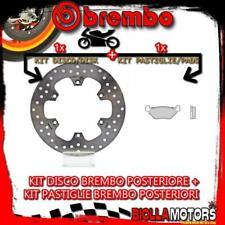 KIT-R03D DISCO E PASTIGLIE BREMBO POSTERIORE YAMAHA T-MAX 500CC 2002- [ORGANIC+F