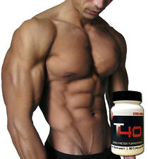 Pro Force T40 TURKESTERONE Factor Bodybuilding Supplements DEER ANTLER VELVET!