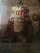 Tom Arma SNOW MONKEY Baby COSTUME 12-18M HALLOWEEN Infant DRESS UP Clothes