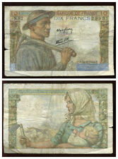 10 francs MINEUR   22/06/1944   ( N 82 )