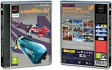 PS4 WipEout Classic Cover (Just Sleeve Cover. No Game and No Case Included)