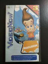 Videonow Jimmy Neutron Nickelodeon 3 Disques