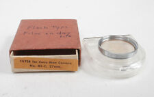ZEISS 85-C 27MM FILTER, WITH BOX AND CASE/165163