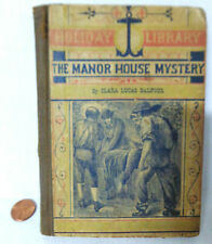 1880 MANOR HOUSE MYSTERY BOOK Clara Lucas Balfour Library Mistake Historical