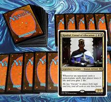 mtg BLACK WHITE ORZHOV ARTIFACTS DECK Magic the Gathering rare 60 cards +