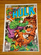 INCREDIBLE HULK #247 VOL1 MARVEL COMICS MAY 1980