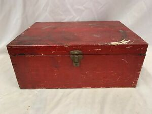 Vintage North Eastern Railway LNER Company First Aid Box Without Contents