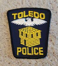 Toledo Ohio Police Shoulder Patch