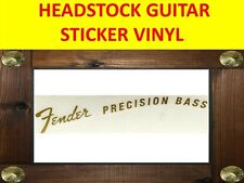 FENDE PRECISION BASS GOLDHEADSTOCK STICKER VISIT OUR STORE WITH MANY MORE MODEL
