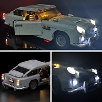 LED Light Kit For Lego 10262 Aston Martin DB5 Creator James Bond lighting bricks