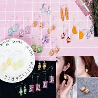 Women Girl Cartoon Candy Chain/Link Dangle Fruit Creative Drop Sweets Earrings