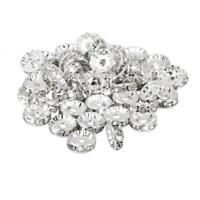 100-500X Silver Austira Clear Crystal Rhinestone Rondelle Spacer Beads DIY SO