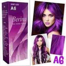 BERINA PERMANENT HAIR DYE COLOR CREAM A6 A8 A14 A21 A23 A24 A41