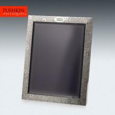 More details for antique 20thc tiffany & co solid silver large photo frame c.1908