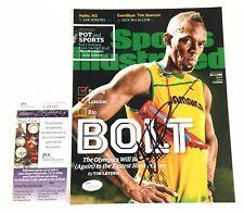Usain Bolt Signed 8x10 Photo JSA COA Olympics