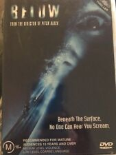 Below (DVD, 2003) Beneath The Surface No One Can hear You Scream- Free Post!