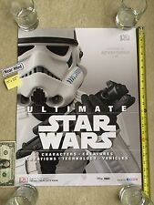 "Ultimate Star Wars Storm Trooper 17"" x 22"" Poster DK Publishing Disney NYCC C2E2"