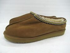 New! UGG Australia 5950 Tasman Chestnut Brown Suede Slipper Size: 18