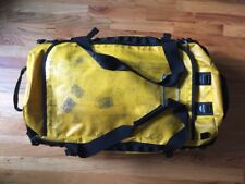 """The North Face TNF Base Camp Duffel Bag Summit Gold Yellow Backpack 28"""""""