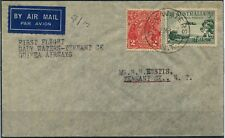 7 Mar.1937 (AAMC.708a) Daly Waters - Tennant Creek flown cover