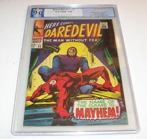 Daredevil #36 - Marvel 1968 Silver Age - PGX VF/NM 9.0 - (Trapster cover/issue)