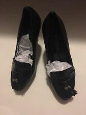 WHITE HOUSE BLACK MARKET Tassel Loafer Leather Platform Pump Shoe 6.5 NIB WHBM